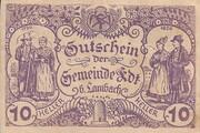 10 Heller (Edt bei Lambach) – avers