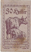30 Heller (Eferding) – avers