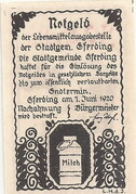 30 Heller (Eferding) – revers