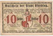 10 Heller (Eferding) -  avers