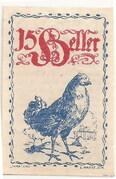 15 Heller (Eferding) – avers