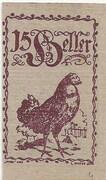 15 Heller (Eferding) -  avers