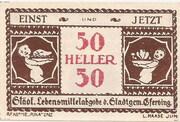 50 Heller (Eferding) -  avers