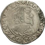 3 Kreuzer - Johann Anton (Waldstein) – avers