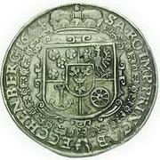 1 Thaler - Johann Anton (Krummau) – revers