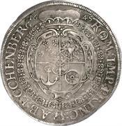 1 thaler Johann Anton -  revers
