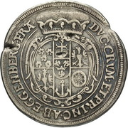 ¼ Thaler - Johann Christian a Johann Seyfried (Krummau) – revers