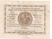 50 Heller (Eggenburg) – revers