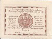 20 Heller (Eggenburg) – revers