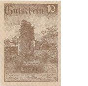 10 Heller (Eggenburg) – avers