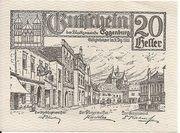 20 Heller (Eggenburg) – avers