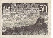 50 Heller (Eggenburg) – avers