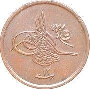 1/40 qirsh - Abdul Hamid II – avers