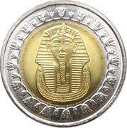 1 pound (magnétique) -  avers