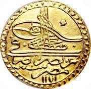1 Zeri Mahbub - Mustafa III – avers