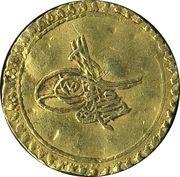 1/2 Altin - Ahmed III – avers