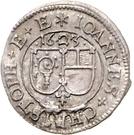 ½ Batzen - Johann Christoph von Westerstetten – avers