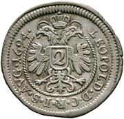 2 Kreuzer - Johann Eucharius Schenk von Castell -  avers