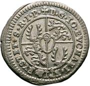 2 Kreuzer - Johann Eucharius Schenk von Castell – revers