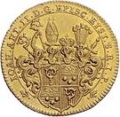 1 Ducat - Johann Anton II – avers