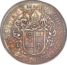 1 thaler Johann Christoph de Westerstetten – avers