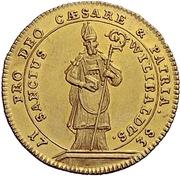 1 Ducat - Johann Anton II – revers