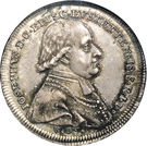 ½ Thaler - Joseph Graf von Stubenberg – avers