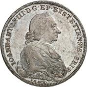 1 thaler Johann Anton III von Zehmen – avers