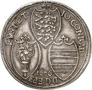 1 thaler Johann Conrad de Gemmingen – avers