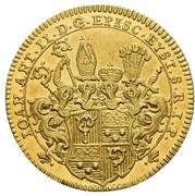 1 ducat Johann Anton II de Freyberg – avers