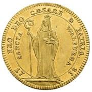 1 ducat Johann Anton II de Freyberg – revers