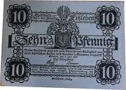 10 Pfennig ( EISLEBEN ) – avers
