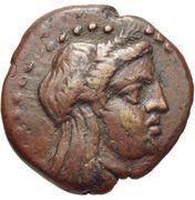 Bronze Æ16 (Elaia) – avers