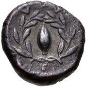 Drachm (Elaia) – revers
