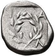 Diobol (Elaia) – revers