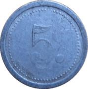 5 centimes - Chambre de Commerce - Elbeuf [76] – revers