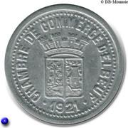 25 centimes - Chambre de Commerce - Elbeuf [76] – avers
