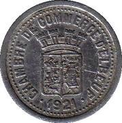 10 centimes - Chambre de Commerce - Elbeuf [76] – avers