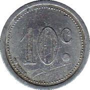 10 centimes - Chambre de Commerce - Elbeuf [76] – revers