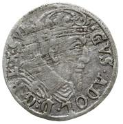 Grosz - Gustaw II Adolf (Swedish Occupation) – avers