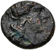 Bronze Æ16 (Eleusis) – avers