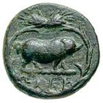 Bronze Æ15 (Eleusis) – revers