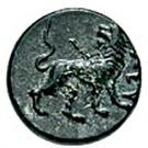 Bronze Æ10 (Eleutheria) – revers