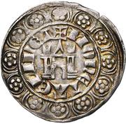 Gros au châtel - Gui IV de Saint-Pol – revers