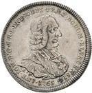 ½ Thaler - Anton Ignaz von Fugger-Glött (1/2 Konventionstaler) – avers