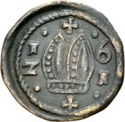 1 Pfennig - Johann Jakob Blarer von Watensee – avers