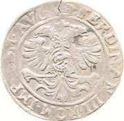 28 stüber Ferdinand III. – revers