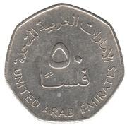 50 fils - Sultan Zahed bin – avers