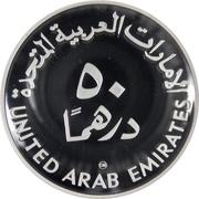 50 Dirhams - Zāyed (IYC; piedfort) – revers