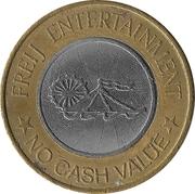 Amusement token - Freij Entertainment (Smaller Inner Circle) – avers